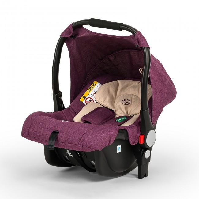 Elele Ranger Travel Sistem Bebek Arabası Mor - Thumbnail