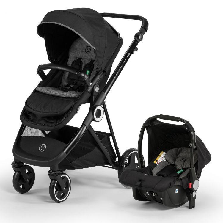 Elele - Elele Ranger Travel Sistem Bebek Arabası Siyah