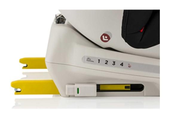 Elele RotateFix 360 Derece Dönebilen İsofixli 0 - 36 kg (Grup 0+1+2+3) Oto Koltuğu Kırmızı - Thumbnail
