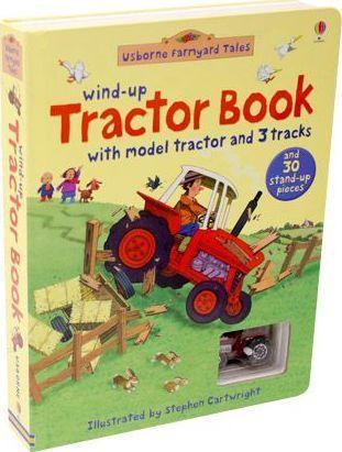 Bibs - Farmyard Tales Wind-Up Tractor Book