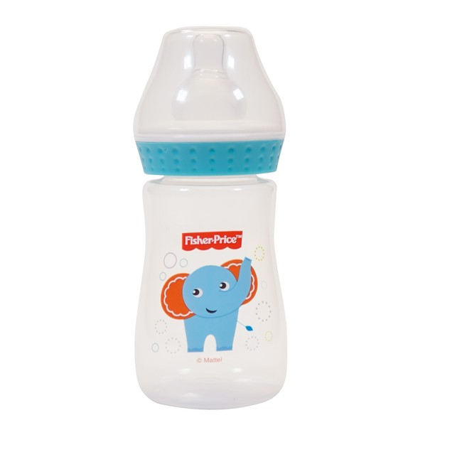 Fisher Price - Fisher Price Dar Ağız 125 ml PP Biberon Fil