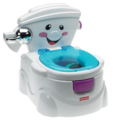 Fisher Price - Fisher Price Eğitici Eğlenceli Tuvalet (Türkçe)