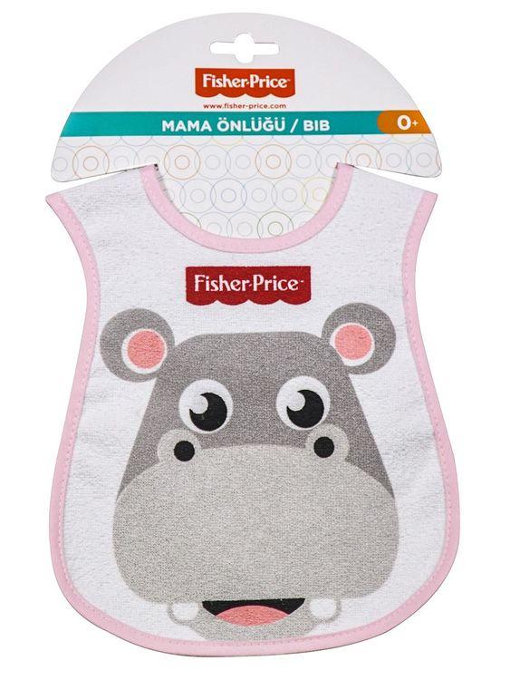 Fisher Price - Fisher Price Hippo Dokuma Önlük