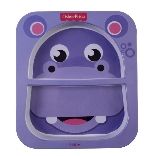 Fisher Price - Fisher Price Hippo Bölmeli Mama Tabağı