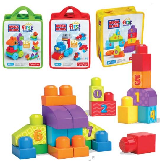 Fisher Price - Fisher Price Mega Bloks Eğlenceli Blok Torbaları