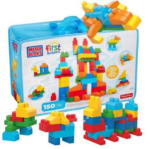 Fisher Price - Fisher Price Mega Bloks Deluxe Blok Çantası