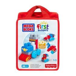 Fisher Price - Fisher Price Mega Bloks® Eğlenceli Blok Torbaları Kırmızı