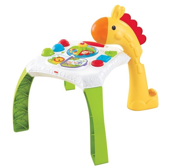 Fisher Price - Fisher Price Melodili Zürafa Aktivite Masası
