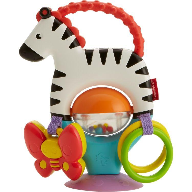 Fisher Price - Fisher Price Sevimli Zebra Mama Sandalyesi Oyuncağı