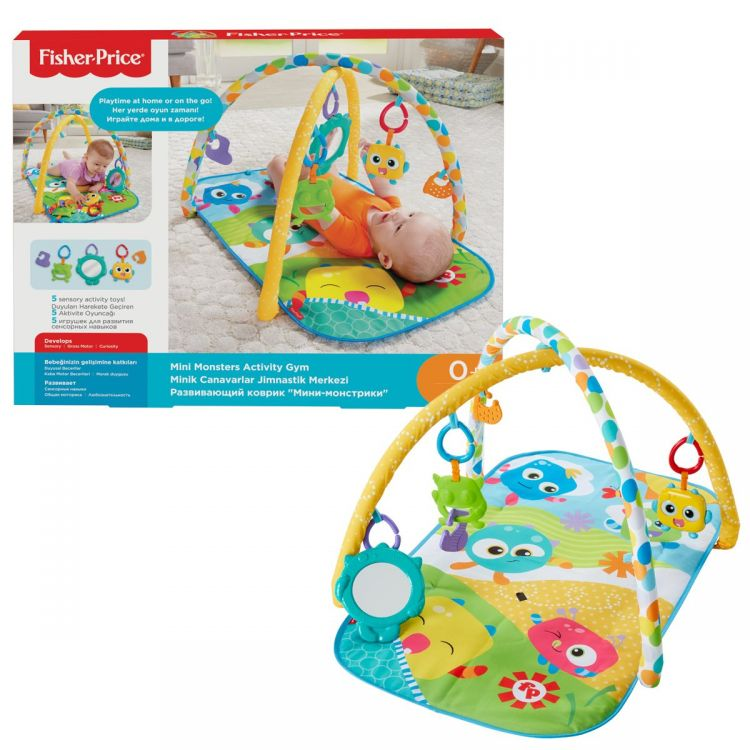 Fisher Price - Fisher Price Minik Canavarlar Jimnastik Merkezi FNF23