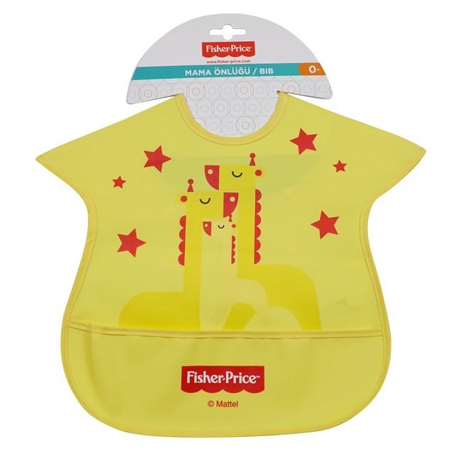 Fisher Price - Fisher Price Zürafa Yarım Faaliyet Önlük Zürafa