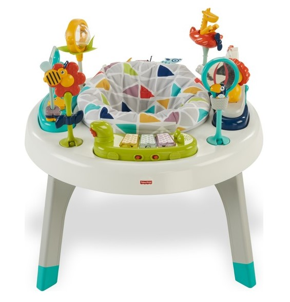 Fisher Price - Fisher-Price 2'si 1 Arada Aktivite Merkezi