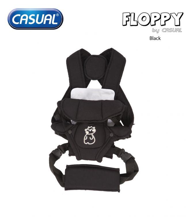 Casual - Floppy Lüks Kanguru - Black
