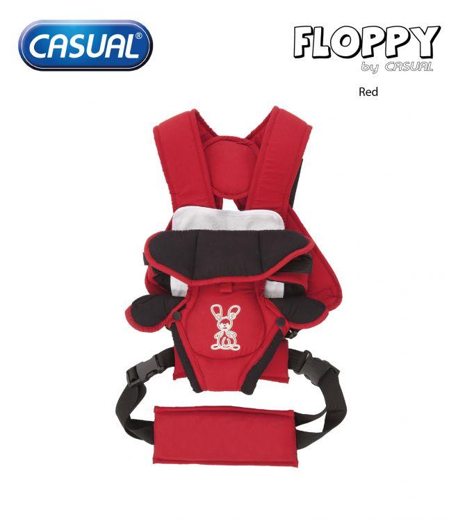 Casual - Floppy Lüks Kanguru - Red