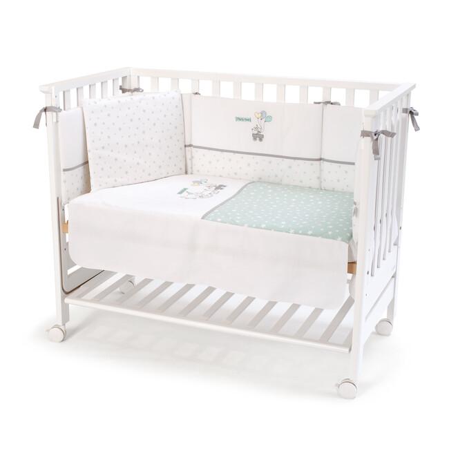 FUNNA BABY - Funnababy Anne Yanı Beşik Uyku Seti Hediyeli Beyaz