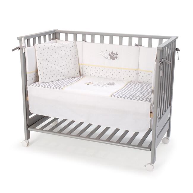 FUNNA BABY - Funnababy Anne Yanı Beşik Uyku Seti Hediyeli Gri