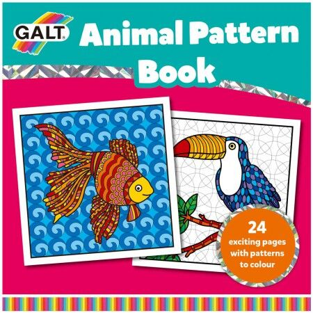 Galt - Galt Animal Pattern Book 6 Yaş+