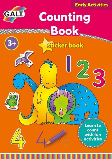 Galt - Galt Aktivite Kitabı Counting 3 Yaş+