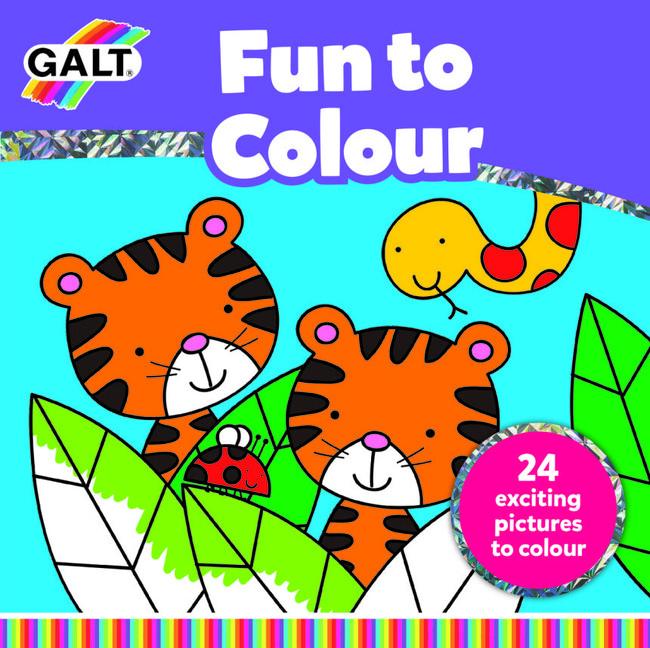 Galt - Galt Boyamam Kitabı Galt Eğlenceli Boyama Kitabı (Fun To Colour) 3 Yaş+