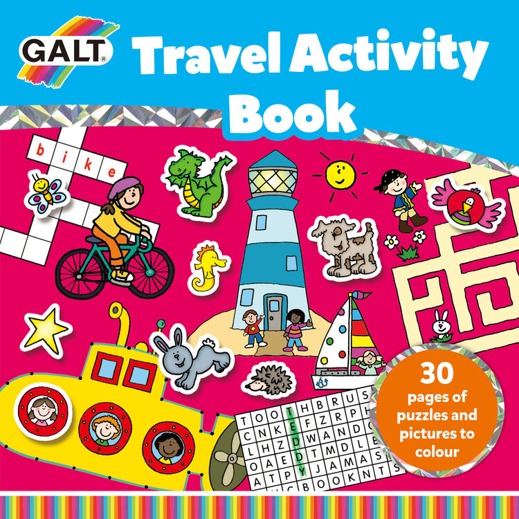 Galt - Galt Travel Activity Book 6 Yaş+