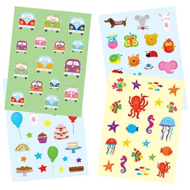 Galt Sticker Fun Pad 3 Yaş+ (Çıkartma Kitabı ) - Thumbnail