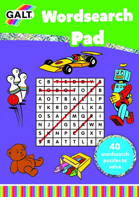 Galt - Galt Kelime Bulmaca Kitabı Wordsearch Pad 5 Yaş+
