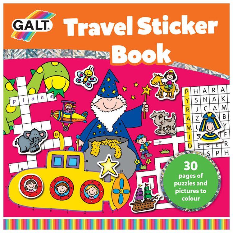 Galt - Galt Seyahat Çıkartma Kitabı 6 Yaş+