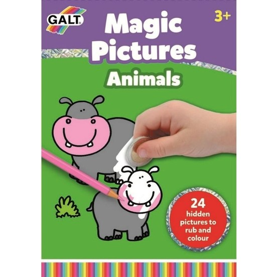 Galt - Sihirli Resimler Hayvanlar 3 Yaş+