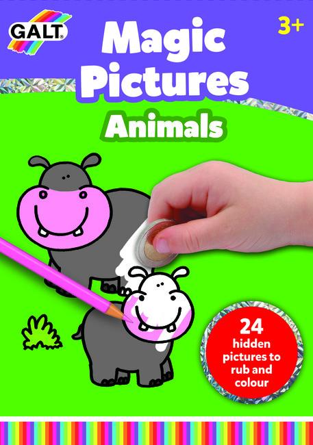 Galt - Galt Sihirli Resimler Hayvanlar (Magic Pictures Animals)