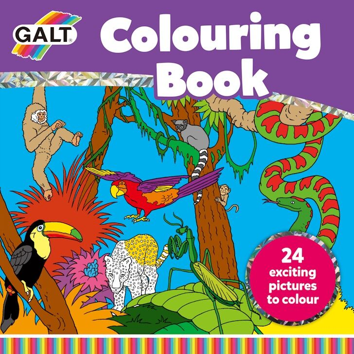 Galt - Galt Colouring Book 5 Yaş+