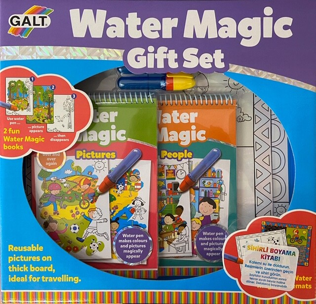 Galt - Galt Water Magic Sihirli Kitaplar Gift Set 3 Yaş+