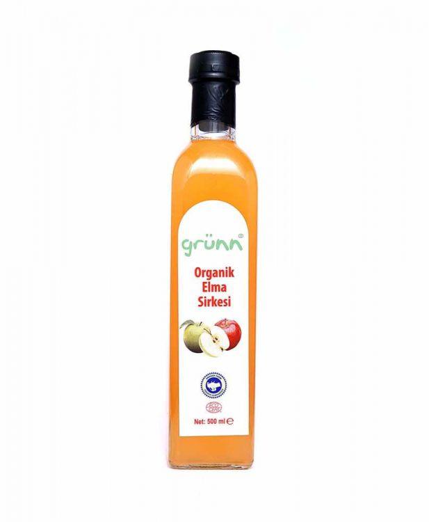 Grünn - Grünn Organik Elma Sirkesi 500 ml