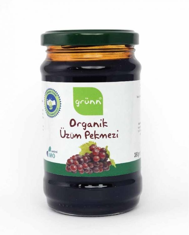 Grünn - Grünn Organik Üzüm Pekmezi 380 gr