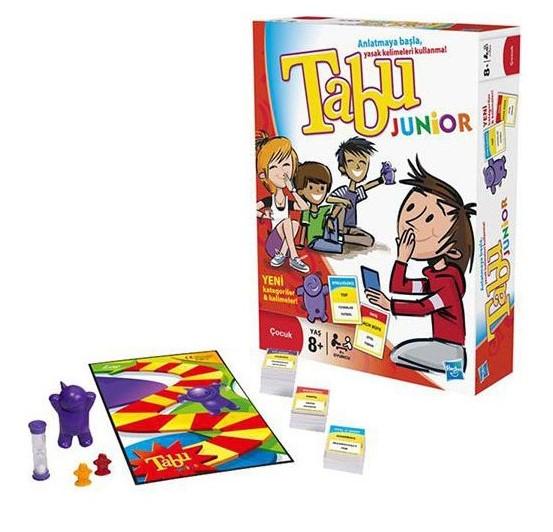 Hasbro - Hasbro 14334 Tabu Junıor