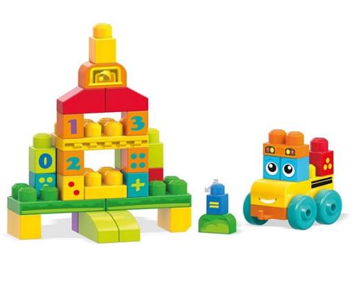 Fisher Price - Fisher Price Mega Bloks Eğlenceli Sayı Treni