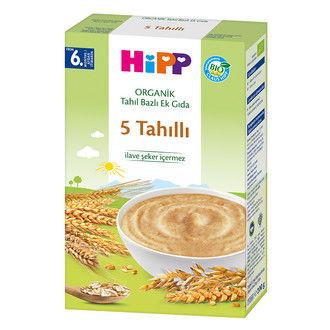 Hipp - Hipp Organik 5 Tahıllı Tahıl Bazlı Ek Gıda