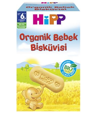 Hipp - Hipp Organik Bebek Bisküvisi 150 gr