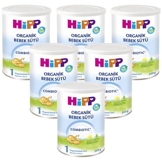 Hipp 1 Organik Combiotic Devam Sütü 350 gr - 6lı