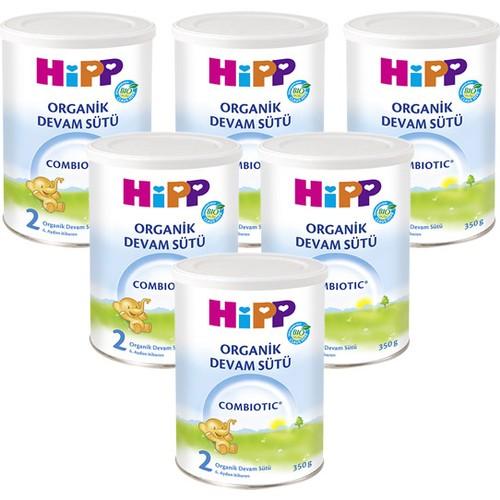 Hipp - Hipp 2 Organik Combiotic Devam Sütü 350 gr - 6lı