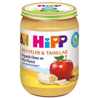 Hipp - Hipp Organik Elma ve Muz Püresi