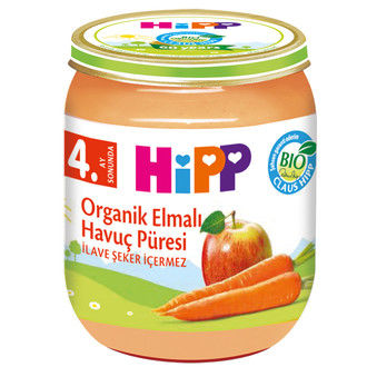 Hipp - Hipp Organik Elmalı Havuç Püresi