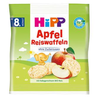 Hipp - Hipp Organik Elmalı Pirinçli Bebek Gofreti