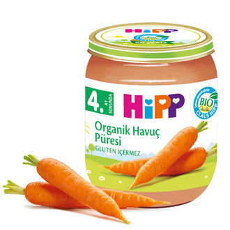 Hipp - Hipp Organik Havuç Püresi