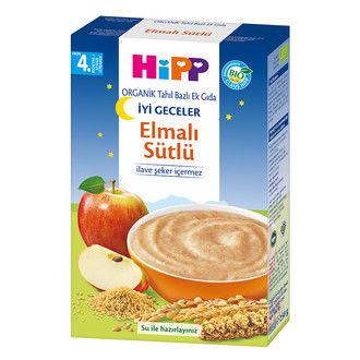 Hipp - Hipp Organik İyi Geceler Elmalı Sütlü Tahıl Bazlı Ek Gıda