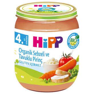 Hipp Organik Sebzeli ve Tavuklu Pirinç