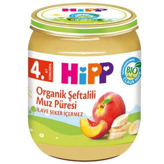 Hipp - Hipp Organik Şeftalili Muz Püresi