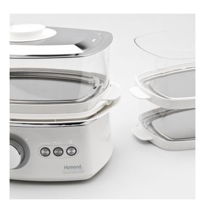 Homend Steam Cooker S3 2401 Buharlı Pişirici - Thumbnail
