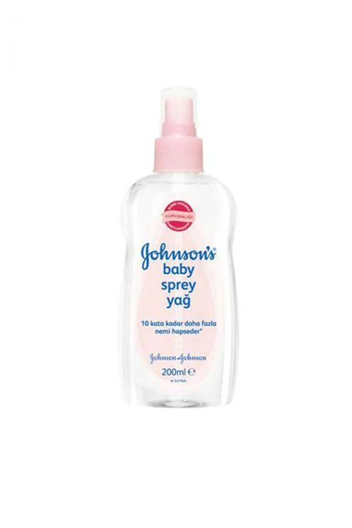 Huggies - Johnsons Baby Light Oil Spray 200 ml Bebek Yağı