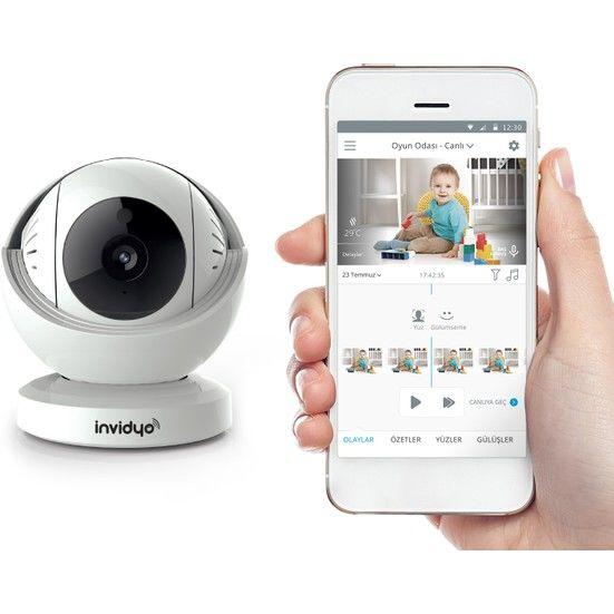 İNVİDYO - Invidyo Akıllı Wifi Bebek Kamerası