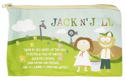Jack And Jill - Jack And Jill Saklama Çantası Bambu Kumaş